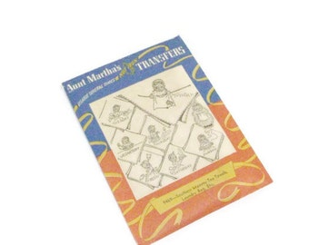 Vintage Southern Mammy Embroidery Transfer | Aunt Martha's  Hot Iron Transfers