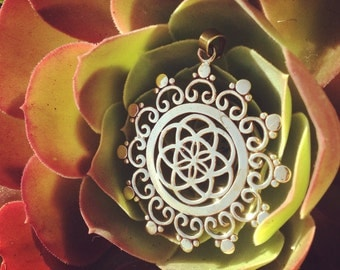 Seed of Life Galactic Guardian Amulet