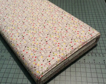Sale- Mod-Century tiny dots fabric - four variations