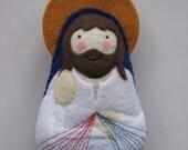 Divine Mercy Jesus Felt Saint Softie