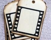 Filmstrip Tag Journaling Spot Handmade Tag Scrapbook Embellishment