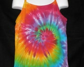 SALE Girls Over the Rainbow Tye Dye Cami Size Large