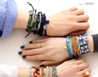 Handmade and Oshre Bracelets - Japanese Craft Book