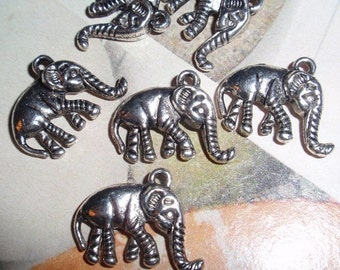Elephant,Charms, Finding-WHOLESALE/OVERSTOCK