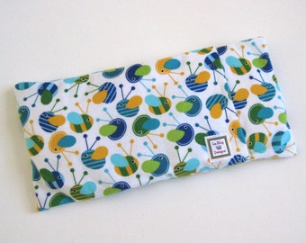 Heating Pad (Microwavable)- FLANNEL BEES // Flannel Heating Pad // Cold pack // Removable Cover