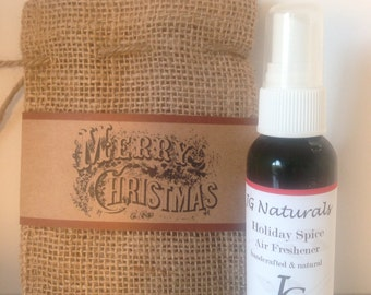 Natural Holiday Spice Room Deodorizer
