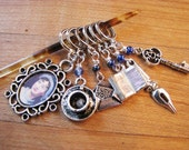 Jane Austen Stitch Markers - For Lovers of Pride and Prejudice