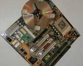 Sale Gold Diamond Computer Clock