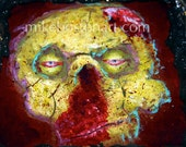 Zombie Crackhead 3D painting by Mike Boston