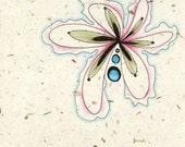 Soft - large 12x12 fine art print flower petals abstract