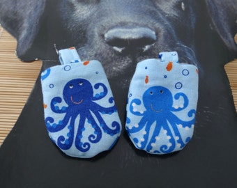 Octopus Hush Puppy Dog Tag Covers