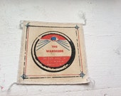The Wanderer 3- color silkscreen printed antique film canister patch 5x5