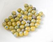 vintage bead mix.