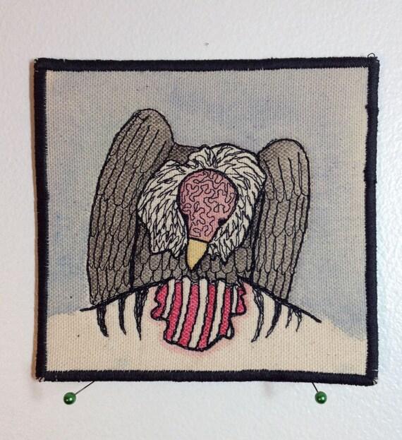 vulture thread sketch