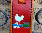Luggage Tag with Woodstock Icon