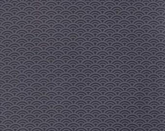 Moda Fabrics Indigo Collection Scallop indigo blue