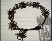 Ooh Scary Spiders bracelet (B-75-41)