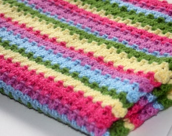 The Ebony Crochet Baby Blanket PDF Pattern