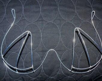 Samba Triangle-Shape Bra Wire Frame Design - New Design / Custom Made