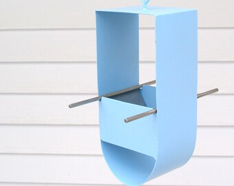 Cheep! Modern Bird Feeder in Pale Blue