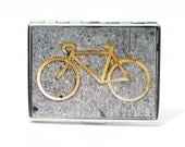 CIGARETTE CASE -, Bike Cigarette Case - Bike Wallet - NYC Cigarette - caja de cigarrillosCase