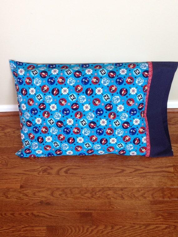 pair of standard size pillowcases children girls boys. Black Bedroom Furniture Sets. Home Design Ideas