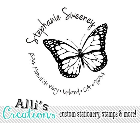 shop blue custom color pose stamps