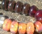 Baby Orphan Beads (20) Handmade lampwork boro beads