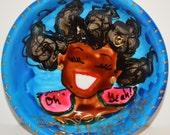 Luscious Art mini Roundette- BALANCE (HappyBLUE)  oh yeah !