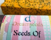 Seeds of Change-March Soap of the Month-Spring Poppy with Florals and Spice