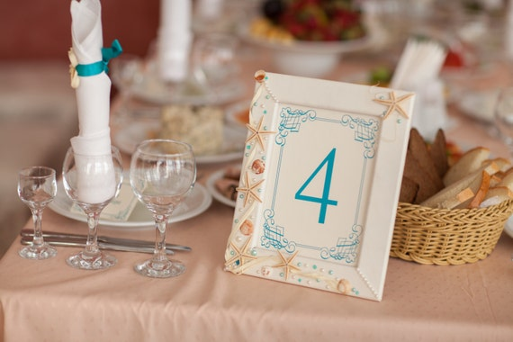 Customized Table Numbers