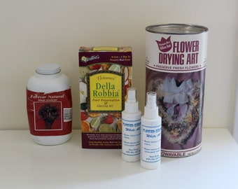 FLOWERS FOREVER Flowers and Fruit drying and preserving kit