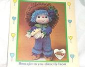 Blueberry Cupcake, Vintage Crochet Pattern, from Lollipop Lane Dumplin Designs