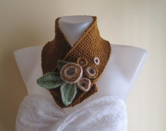 Knit cowl,neckwarmer,neckwrap,scarf,,fashion.winter accessories.....