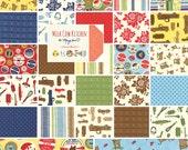 "SALE Moda MILK COW Kitchen Layer Cake 10"" Precut Fabric Quilting Cotton Squares 16110lc Mary Jane"