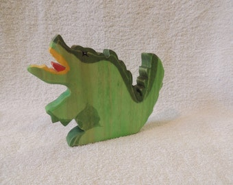 Wooden Toy  Dragon waldorf style