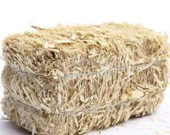 Miniature Natural Straw Hay Bale