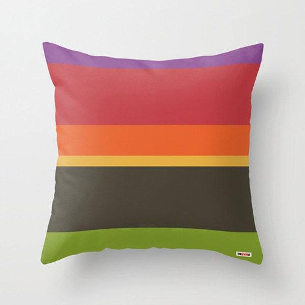 Modern Accent Pillow Covers : Stripes Decorative throw pillow cover Modern accent pillows