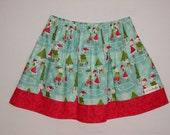 Christmas Holiday Skating Skirt Toddler Girl Size 3