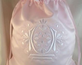 Custom Monogram Wedding Money Bag