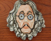 Rare Vintage Dr. Saturn by Adrian 1952 Unusual 1950s Face Dish Ashtray