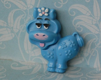 1970s Cow Glace Brooch Avon 1973 Vintage Perfume