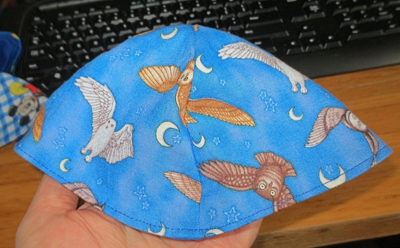 Jew Detector: Flying Owls Kippah Bird Owl Yarmulke Toddler By