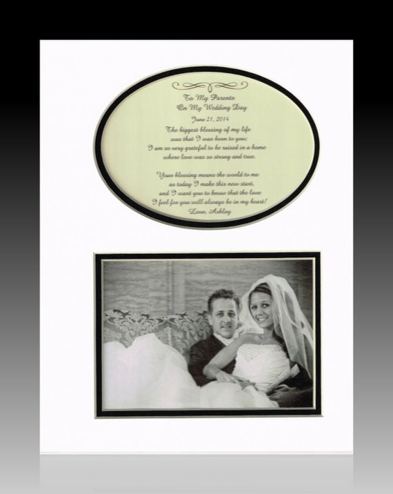 Wedding Gift For Groom Dad : Wedding Gift for Parents Bride Groom Mother Father Personalized ...