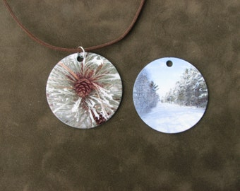 Snowy Winter necklace