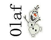 Square Stitch Pattern Earrings Disney Frozen Inspired Olaf Snowman Beaded Charm Square Stitch Pattern PDF Digital File