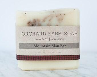 Mountain Man Bar//Natural Soap//Robust Man Bar