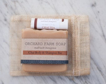 Chai Gift Set// Chai Lip Balm//Chai Natural Soap