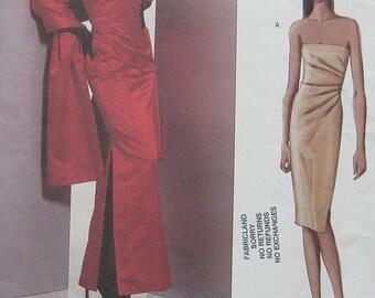 Vogue Bellville Sassoon Dress Pattern 2481