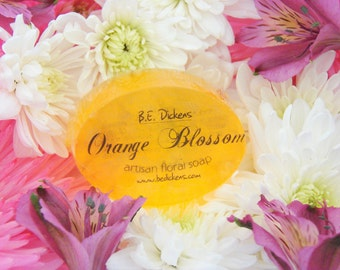 Orange Blossom Soap from the Flower Garden